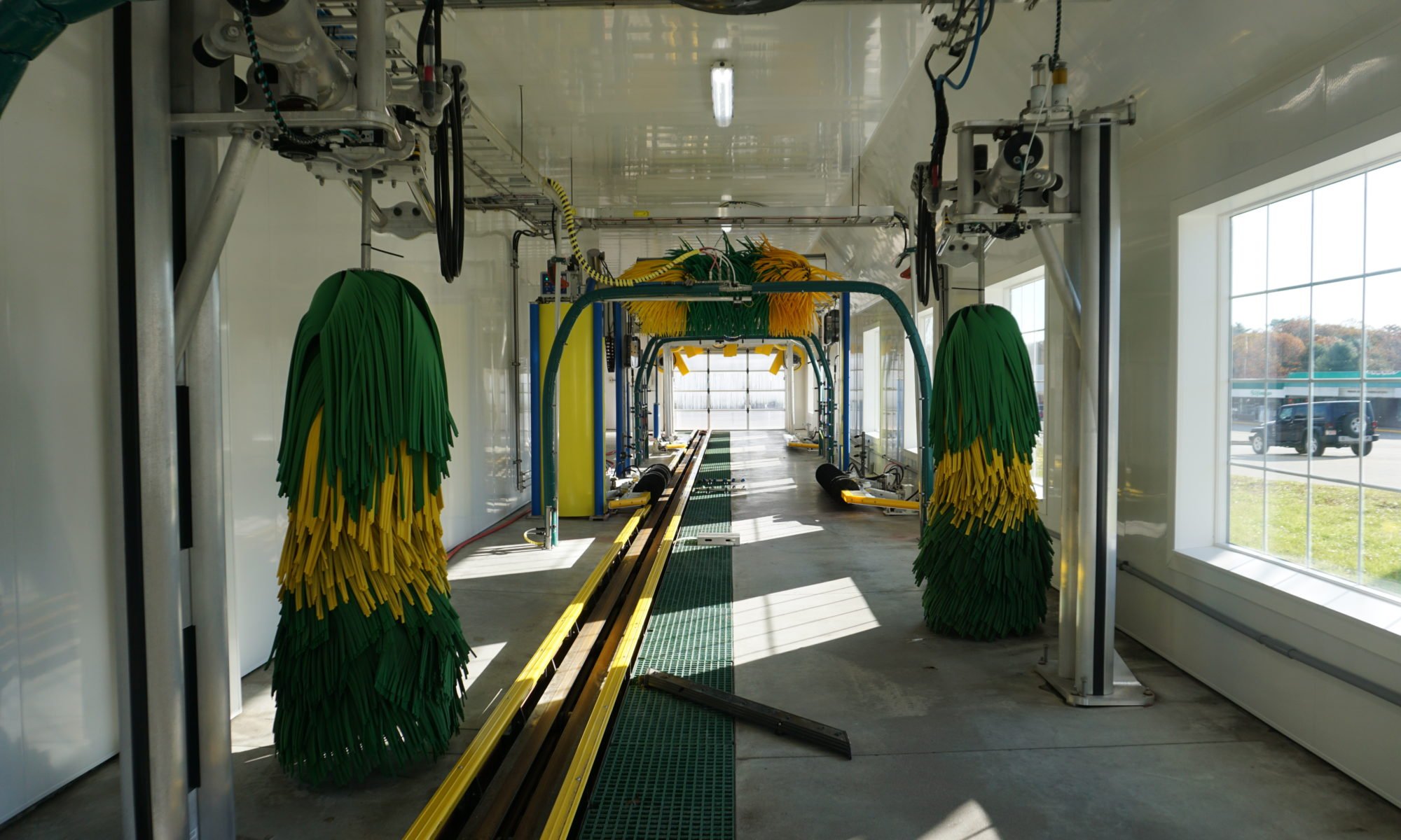 autospa car wash tunnel